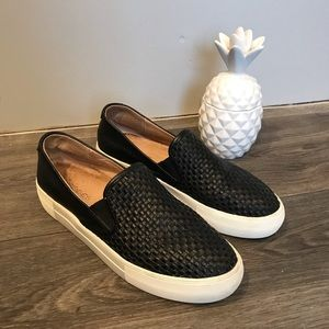 Jslides NYC Halsey Woven Slip-On Sneaker